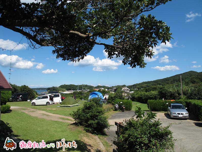 観光農園キャンプ村の管理棟から見える風景~大自然の中にキャンプ場があります。~