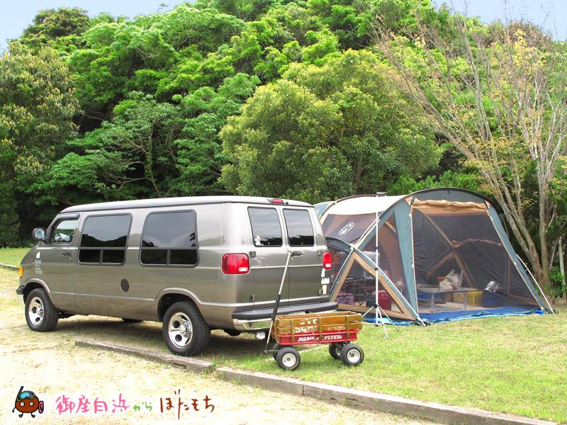 やまみオートキャンプ場のキャンプサイト~その1~