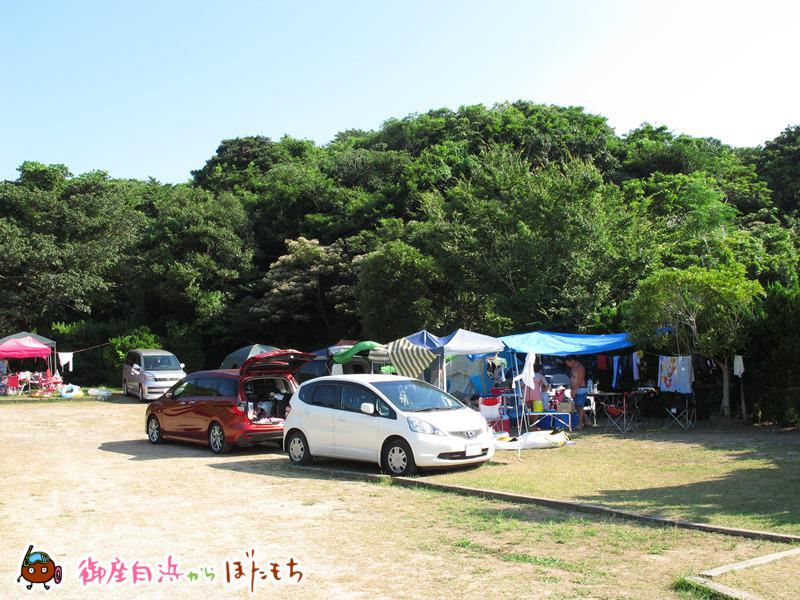 やまみオートキャンプ場のキャンプサイト~その3~