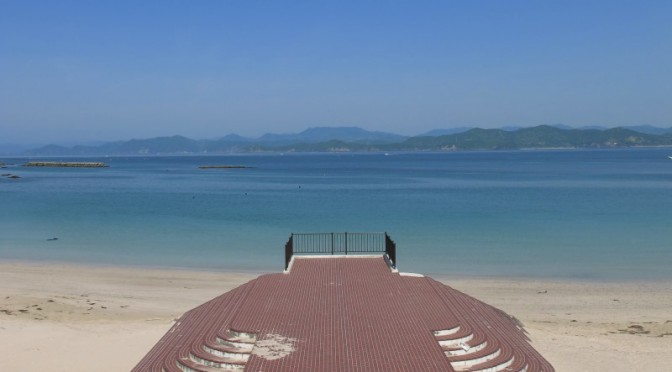 御座白浜海水浴場ボランティア清掃活動20140511