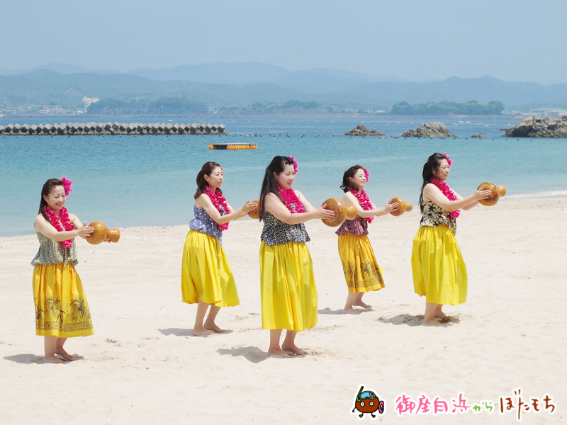 伊勢市のフラ教室「Hula studio kai lani」によるフラダンスその1