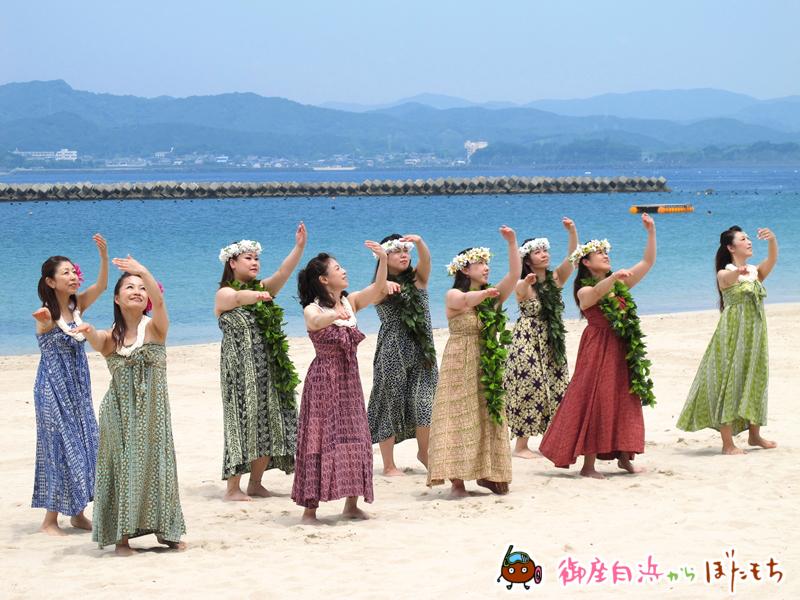 伊勢市のフラ教室「Hula studio kai lani」によるフラダンスその2