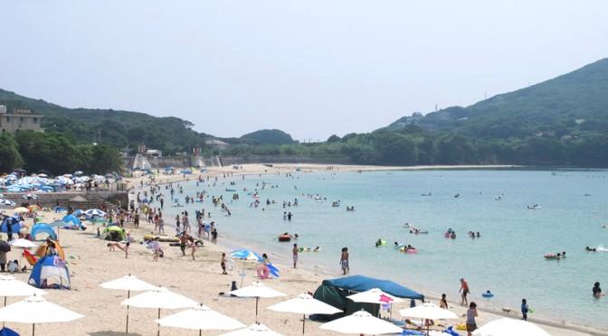 御座白浜海水浴場2014年7月21日その1