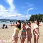 御座白浜海水浴場を盛り上げてくれている、「今日のござぼたベッピンさん」!!