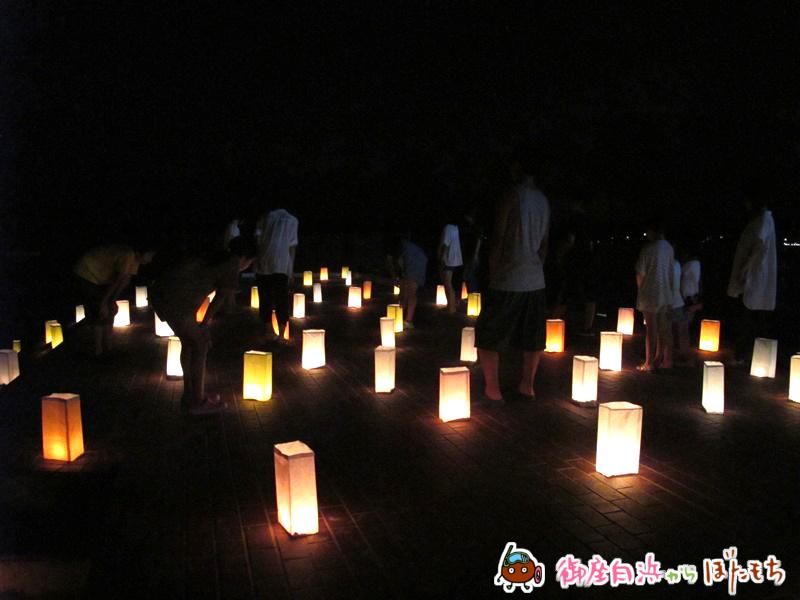 御座白浜海水浴場キャンドルナイト2014~その1~