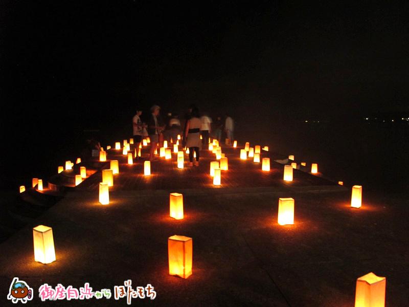 御座白浜海水浴場キャンドルナイト2014~その7~