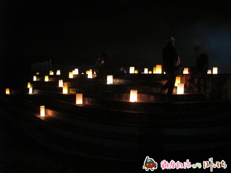 御座白浜海水浴場キャンドルナイト2014~その3~
