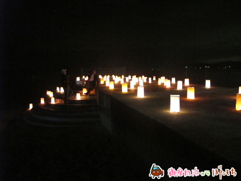 御座白浜海水浴場キャンドルナイト2014~その6~