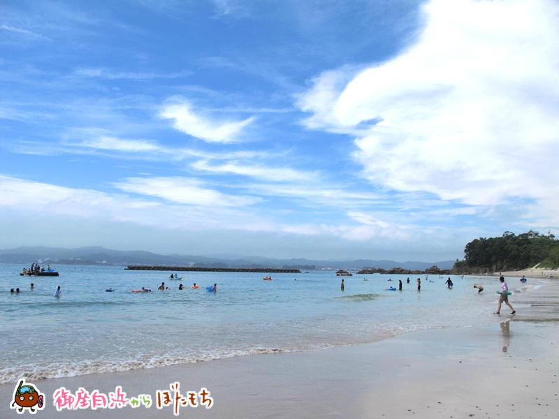 御座白浜海水浴場_20150718〜その1