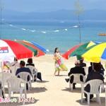 御座白浜海水浴場、「海開式」を開催しました。